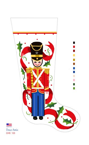 click here to view larger image of Toy Soldier - 18M (hand painted canvases)