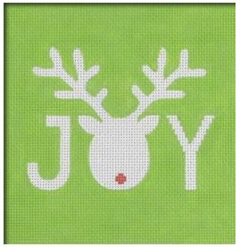 Reindeer Joy hand painted canvases