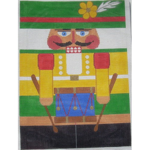 Nutcracker - Drummer - click here for more details about this hand painted canvases