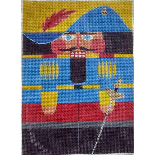 Nutcracker - Musketeer - click here for more details about this hand painted canvases