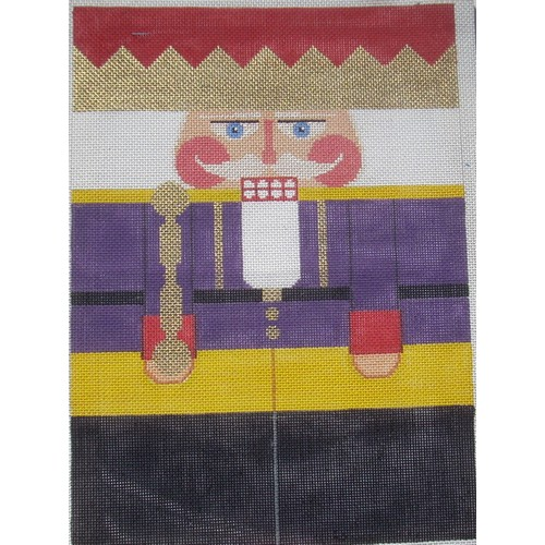Nutcracker - Purple King - click here for more details about this hand painted canvases