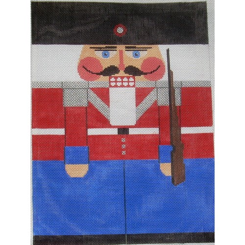 Nutcracker - Blue Soldier - click here for more details about this hand painted canvases