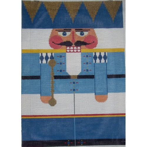 Nutcracker - Light Blue King - click here for more details about this hand painted canvases