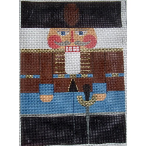 Nutcracker - Russian Hussar - click here for more details about this hand painted canvases