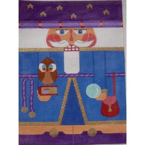 Nutcracker - Merlin - click here for more details about this hand painted canvases