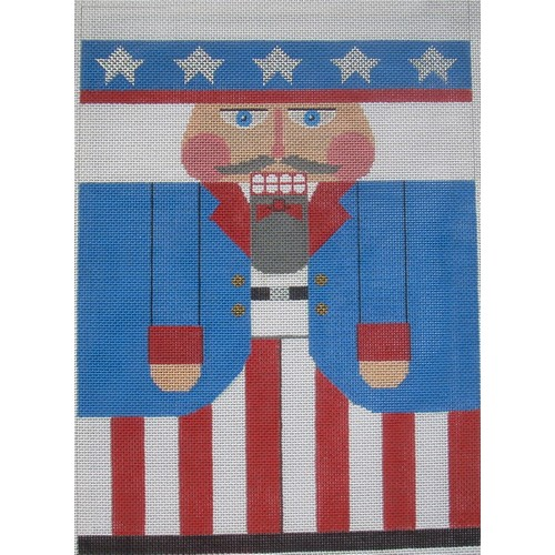 Nutcracker - Uncle Sam - click here for more details about this hand painted canvases