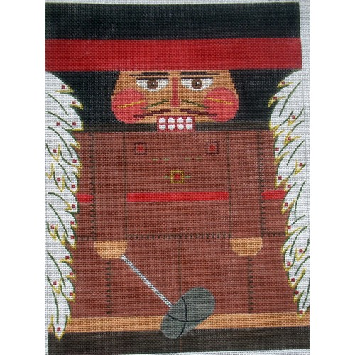 Nutcracker - Indian Chief - click here for more details about this hand painted canvases