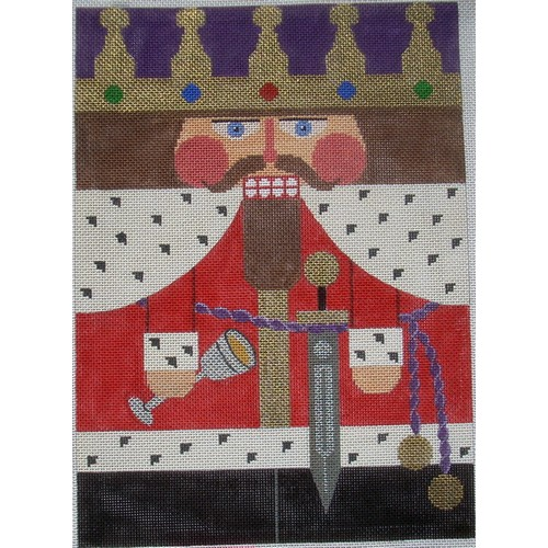 Nutcracker - King Arthur - click here for more details about this hand painted canvases