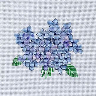 Hydrangea Bloom hand painted canvases