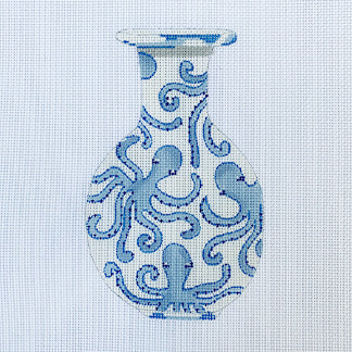 Ginger Jar Octopus hand painted canvases