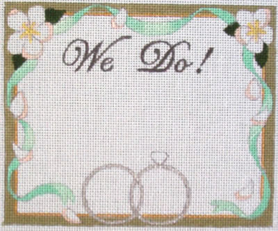 click here to view larger image of We Do ! (hand painted canvases)