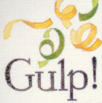 click here to view larger image of Gulp (hand painted canvases)