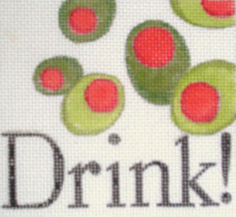 click here to view larger image of Drink (hand painted canvases)