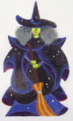 click here to view larger image of Wicked Witch (hand painted canvases)
