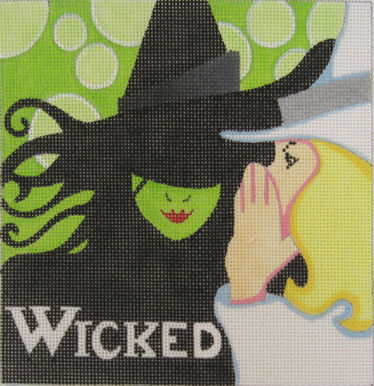 click here to view larger image of Wicked (hand painted canvases)