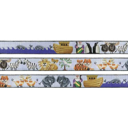click here to view larger image of Noah's Ark  Belt (hand painted canvases)