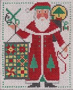 click here to view larger image of PS Santa 2005 (hand painted canvases)