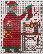 click here to view larger image of PS Santa 2006 (hand painted canvases)