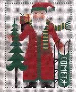 click here to view larger image of PS Santa 2008 (hand painted canvases)