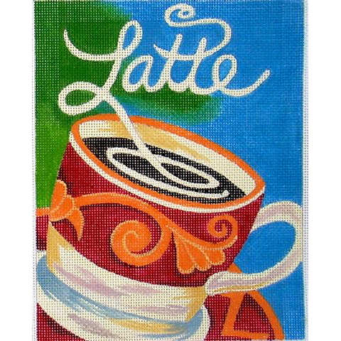 click here to view larger image of Cafe Latte (hand painted canvases)