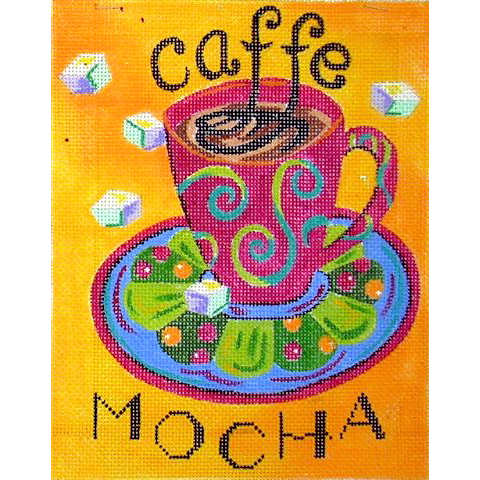 click here to view larger image of Cafe Mocha (hand painted canvases)