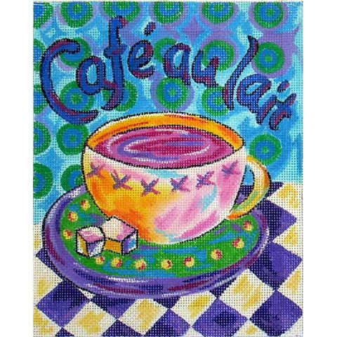 click here to view larger image of Cafe au Lait (hand painted canvases)