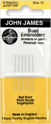 click here to view larger image of John James Beading Needles  (accessories)
