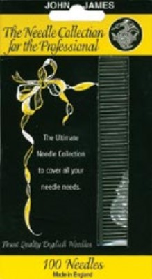 click here to view larger image of John James Professional Needle Collection  (accessories)