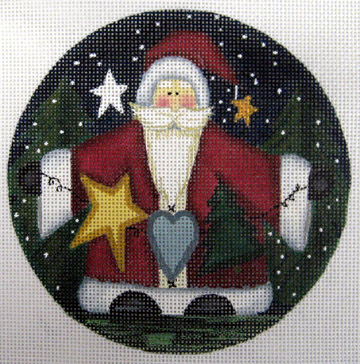 click here to view larger image of Christmas Wishes (hand painted canvases)