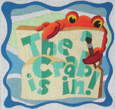 click here to view larger image of Crab Is In, The (hand painted canvases)