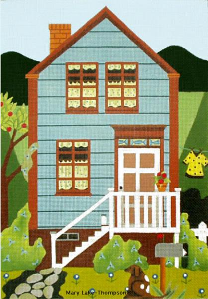 click here to view larger image of Country House (hand painted canvases)