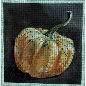 click here to view larger image of Yellow Gourd (hand painted canvases)
