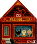 click here to view larger image of Devil's Food Baker (hand painted canvases)