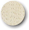 click here to view larger image of Canvas - 18ct Deluxe Mono - Eggshell with Metallic Gold 18ct (fabric)