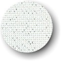 click here to view larger image of Canvas - 18ct Deluxe Mono - White with Metallic Silver  (fabric)