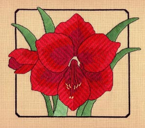 click here to view larger image of Amaryllis (counted canvas work)