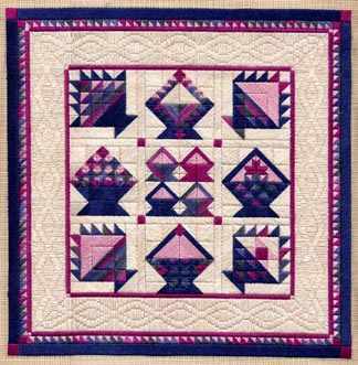 click here to view larger image of Basket Sampler (counted canvas work)