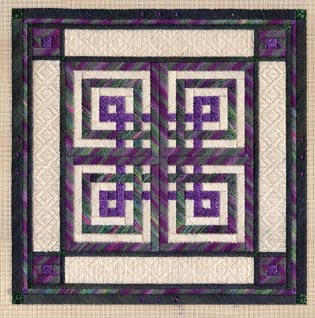Celtic Knots counted canvas work