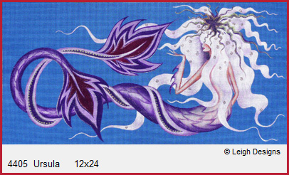 click here to view larger image of Ursula (hand painted canvases)