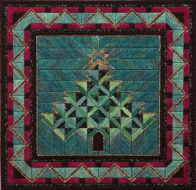 click here to view larger image of Holiday Tree II (counted canvas work)