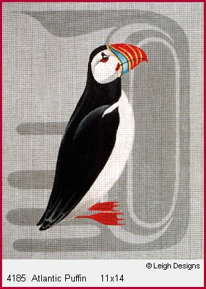 click here to view larger image of Atlantic Puffin (hand painted canvases)