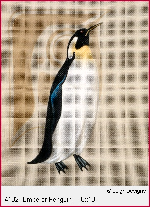 click here to view larger image of Emperor Penguin (hand painted canvases)