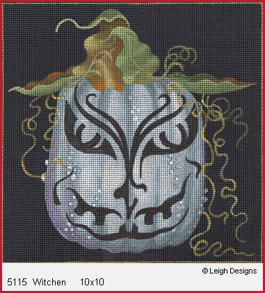 click here to view larger image of Witchen (hand painted canvases)