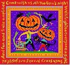 click here to view larger image of All Hallow's Night (hand painted canvases)