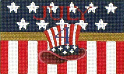 click here to view larger image of Hat Fire Cracker (hand painted canvases)