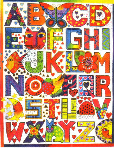 click here to view larger image of Alphabet Sampler - HP - 13ct (None Selected)