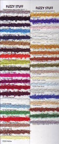 click here to view larger image of Rainbow Gallery - Fuzzy Stuff (fibers)