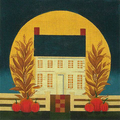 click here to view larger image of Harvest Moon (hand painted canvases)