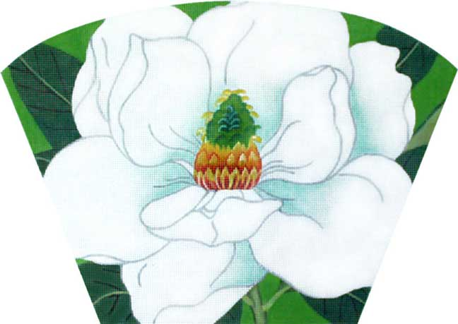 click here to view larger image of Magnolia (Purse Insert) (hand painted canvases)