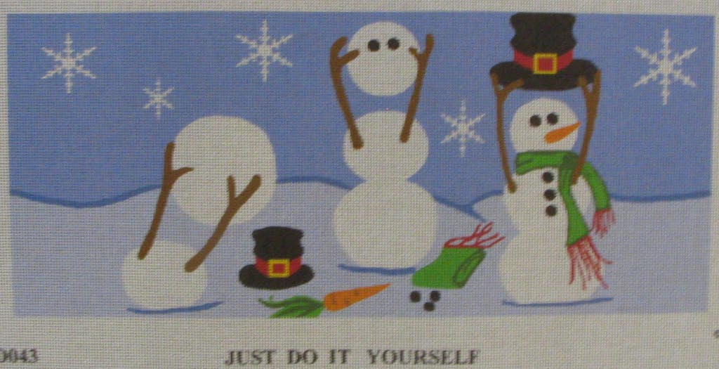 click here to view larger image of Just Do It Yourself (hand painted canvases)